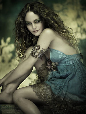 Vanessa Paradis is mostly known as the girlfriend of Johnny Depp.